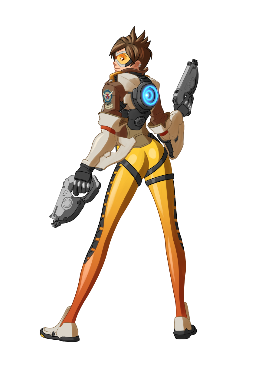 Re made into fanart. Overwatch tracer png