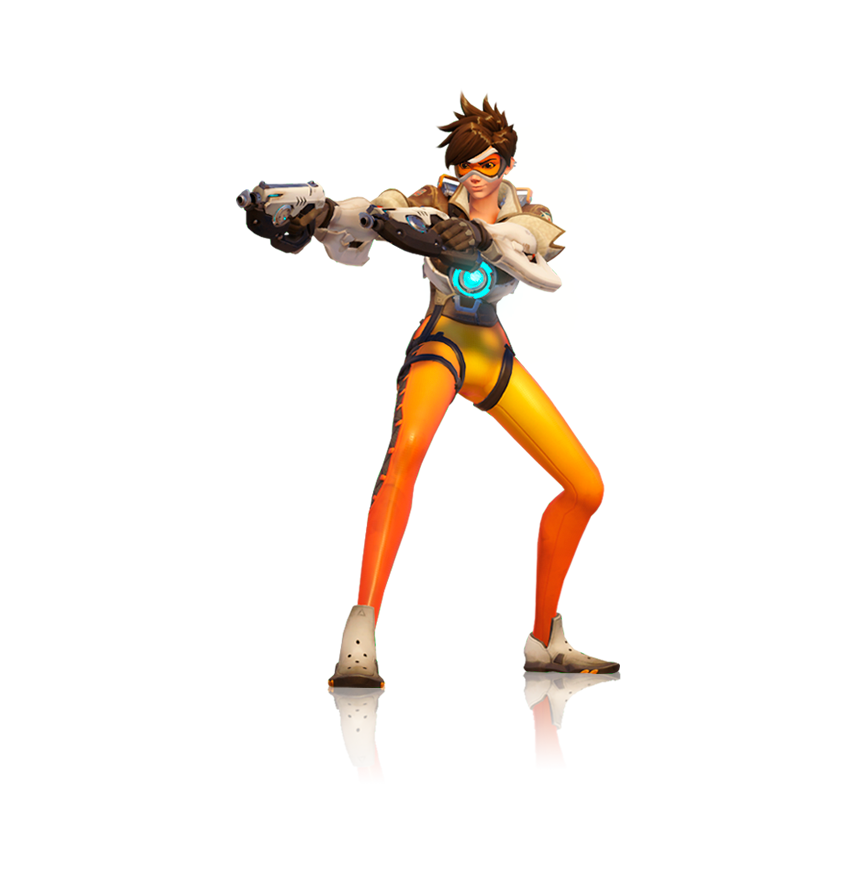 Overwatch tracer png. Render by popokupingupop on