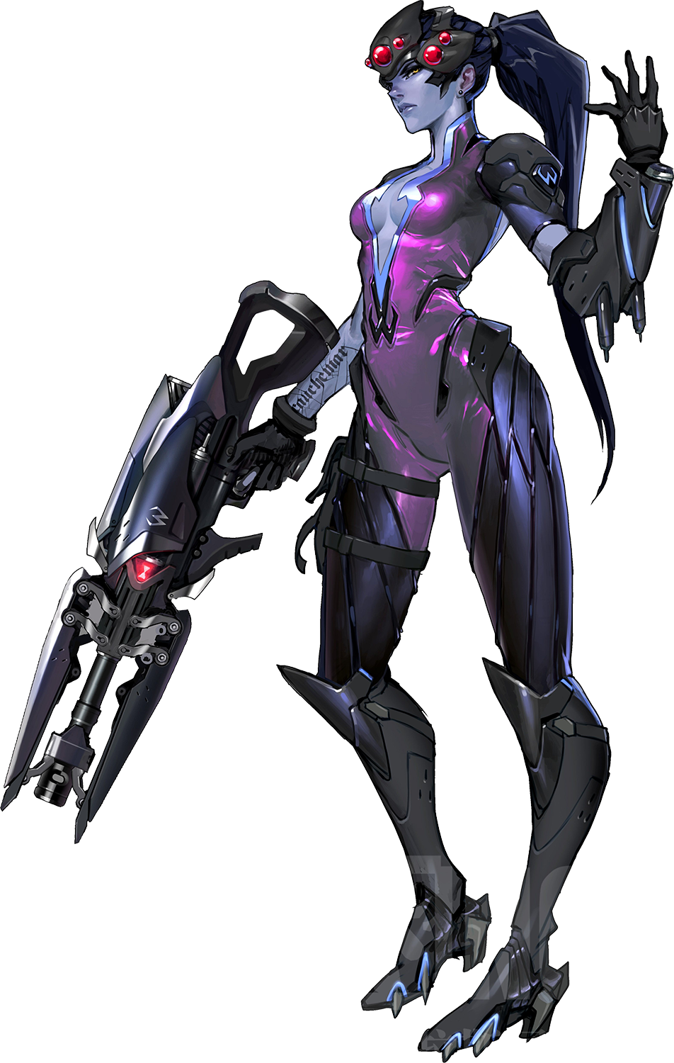 Overwatch transparent png. Image widowmakerplate wiki fandom