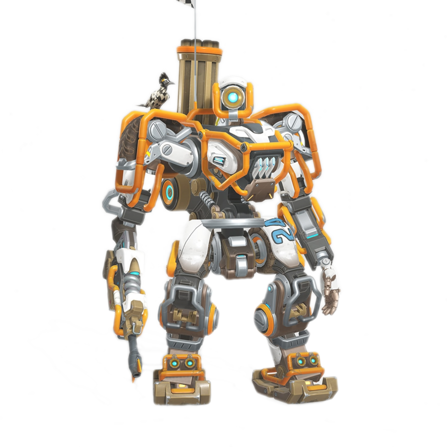Overwatch transparent png.  bastion for free