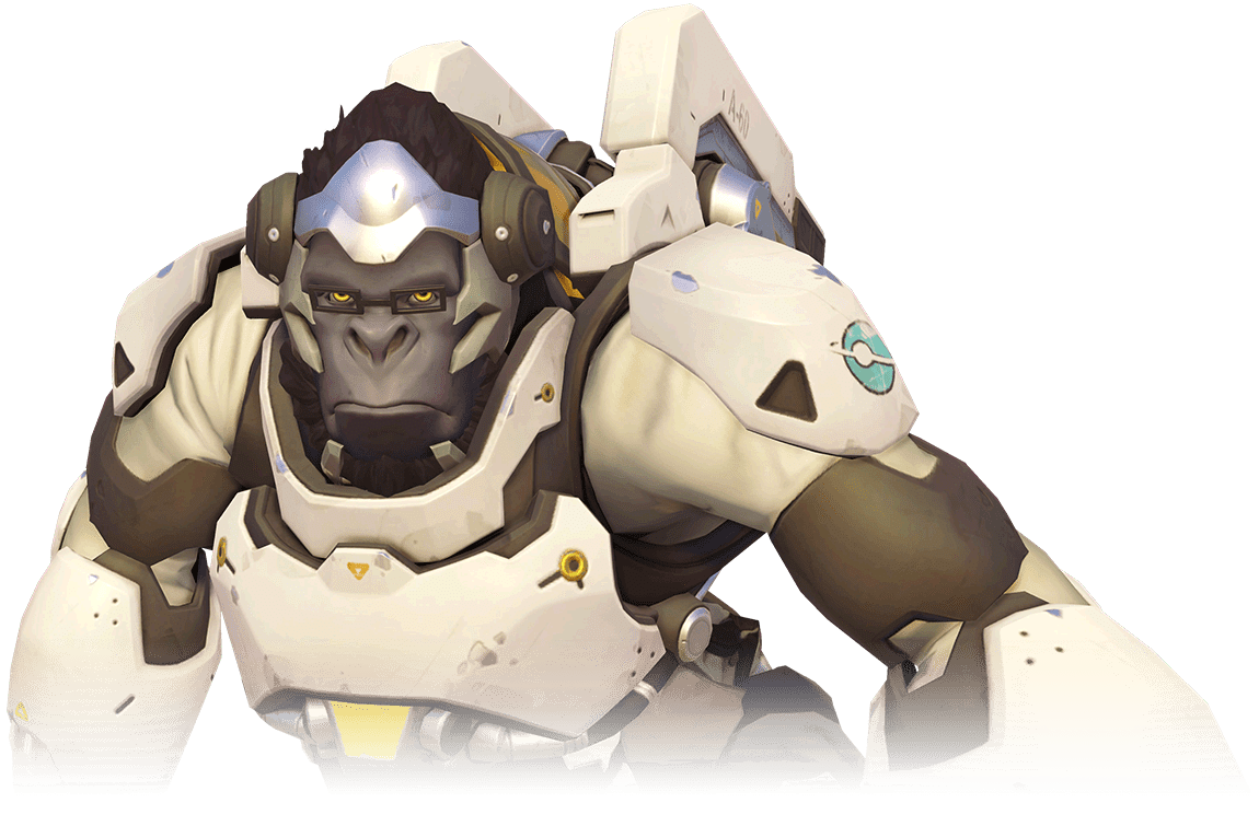 Winston stickpng games. Overwatch transparent png