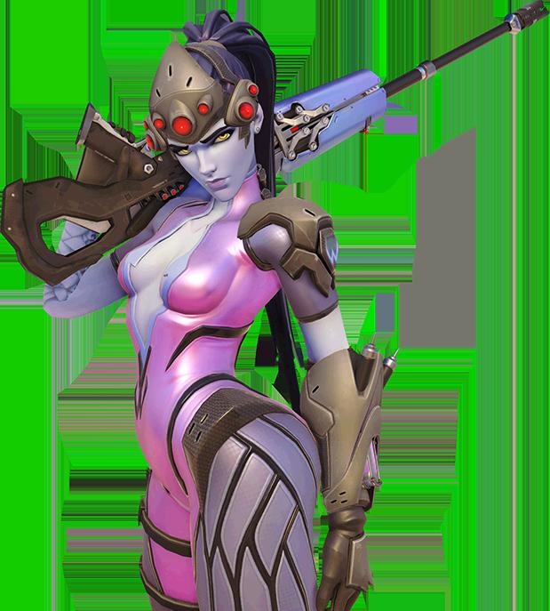 Image portrait wiki fandom. Overwatch widowmaker png