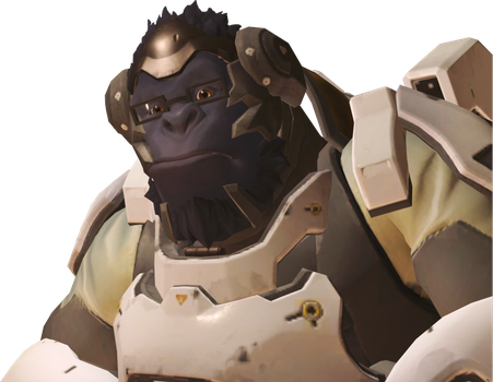 Character pngs by smashroyale. Overwatch winston png