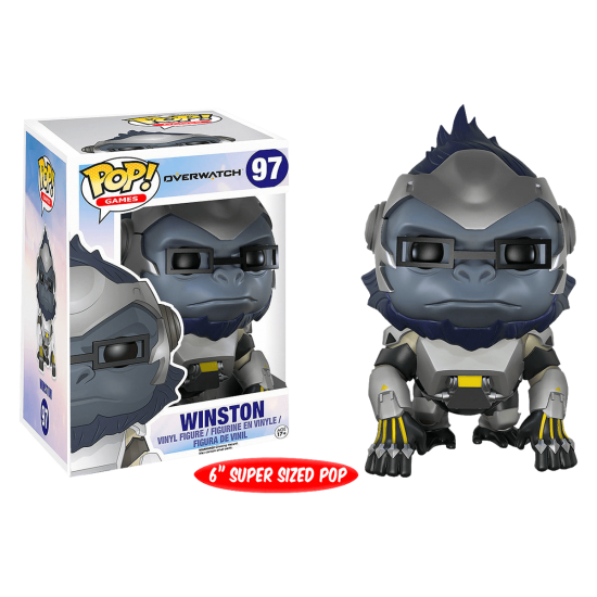 Overwatch winston png. Funko pop vinyl over