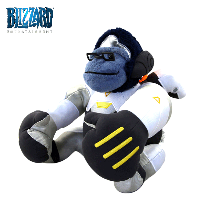 Overwatch winston png. Usd around plush toy