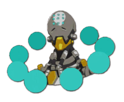 Overwatch zenyatta png. Image spray tekhartha wiki