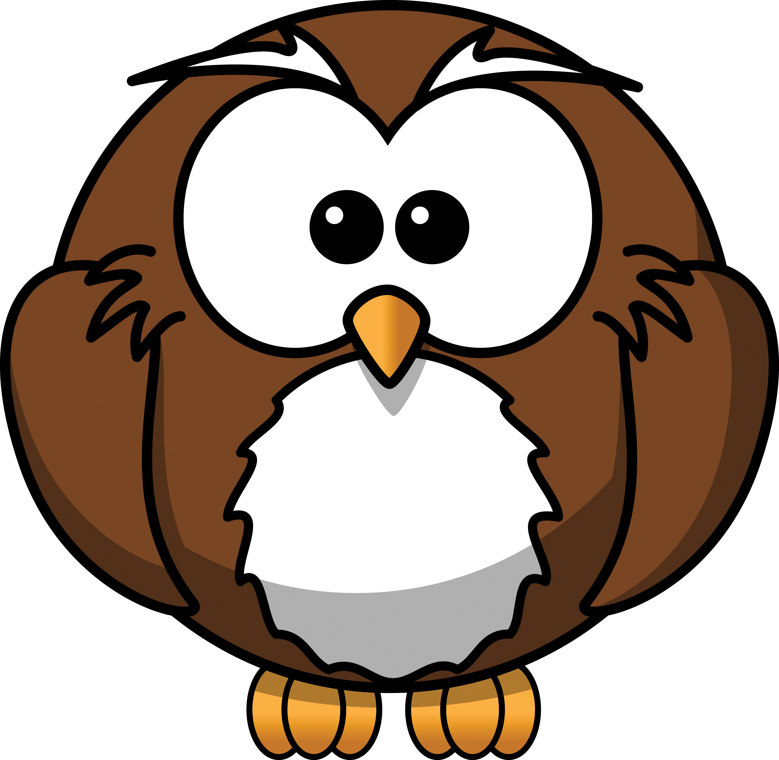 Wise panda free images. Pencil clipart owl