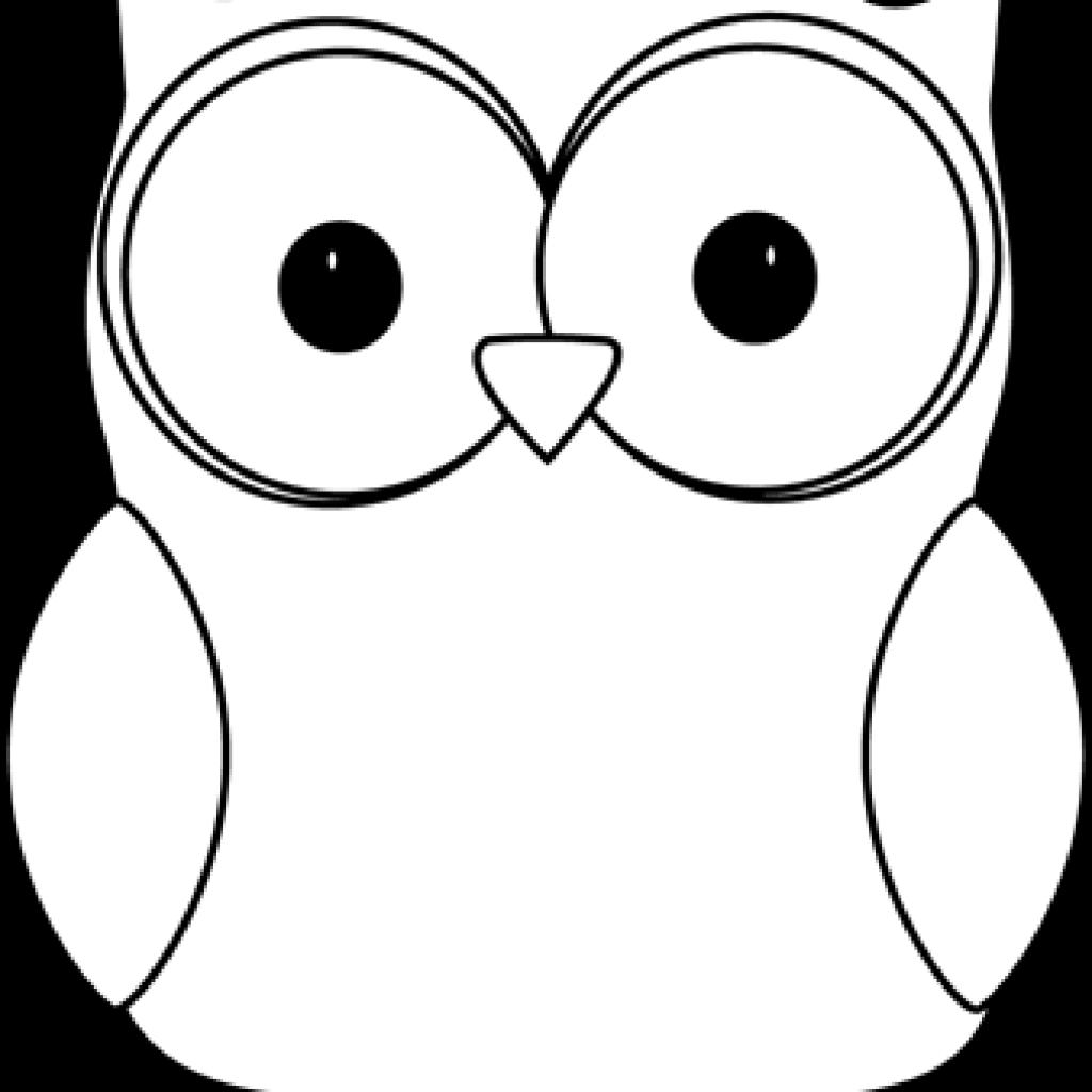 Owl hatenylo com clip. Winter clipart black and white