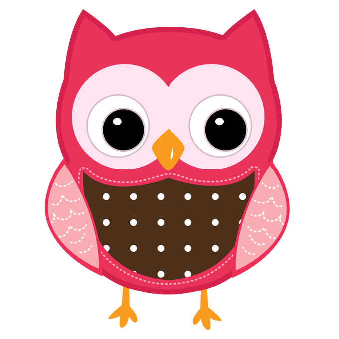 Cute cartoon owl pics. Owls clipart december