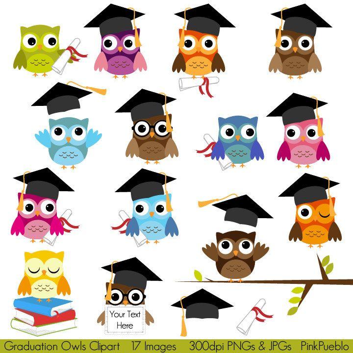 Owls clipart education. Graduation clip art school