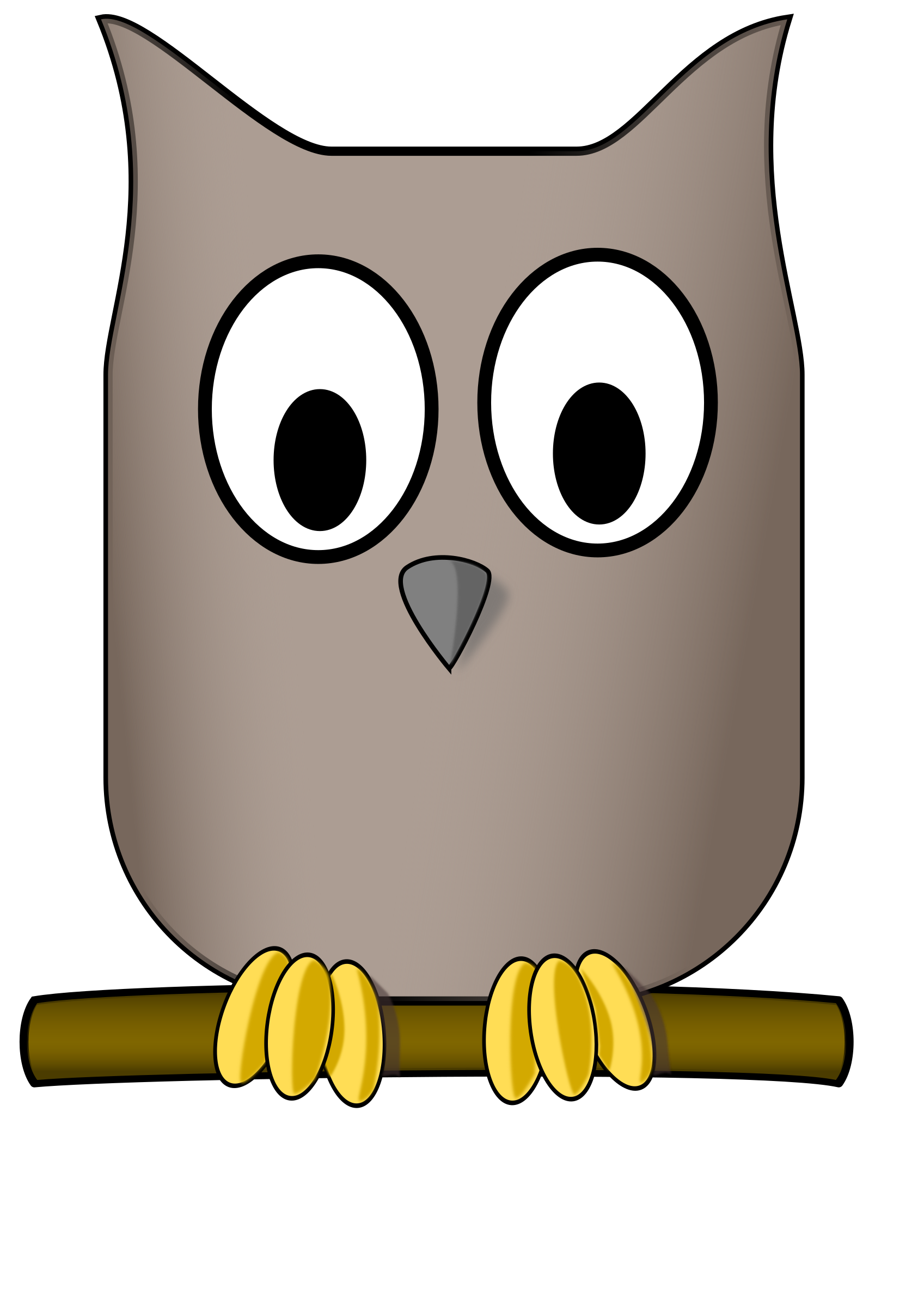 Woodland clipart woodland bird. Collection of free hooting