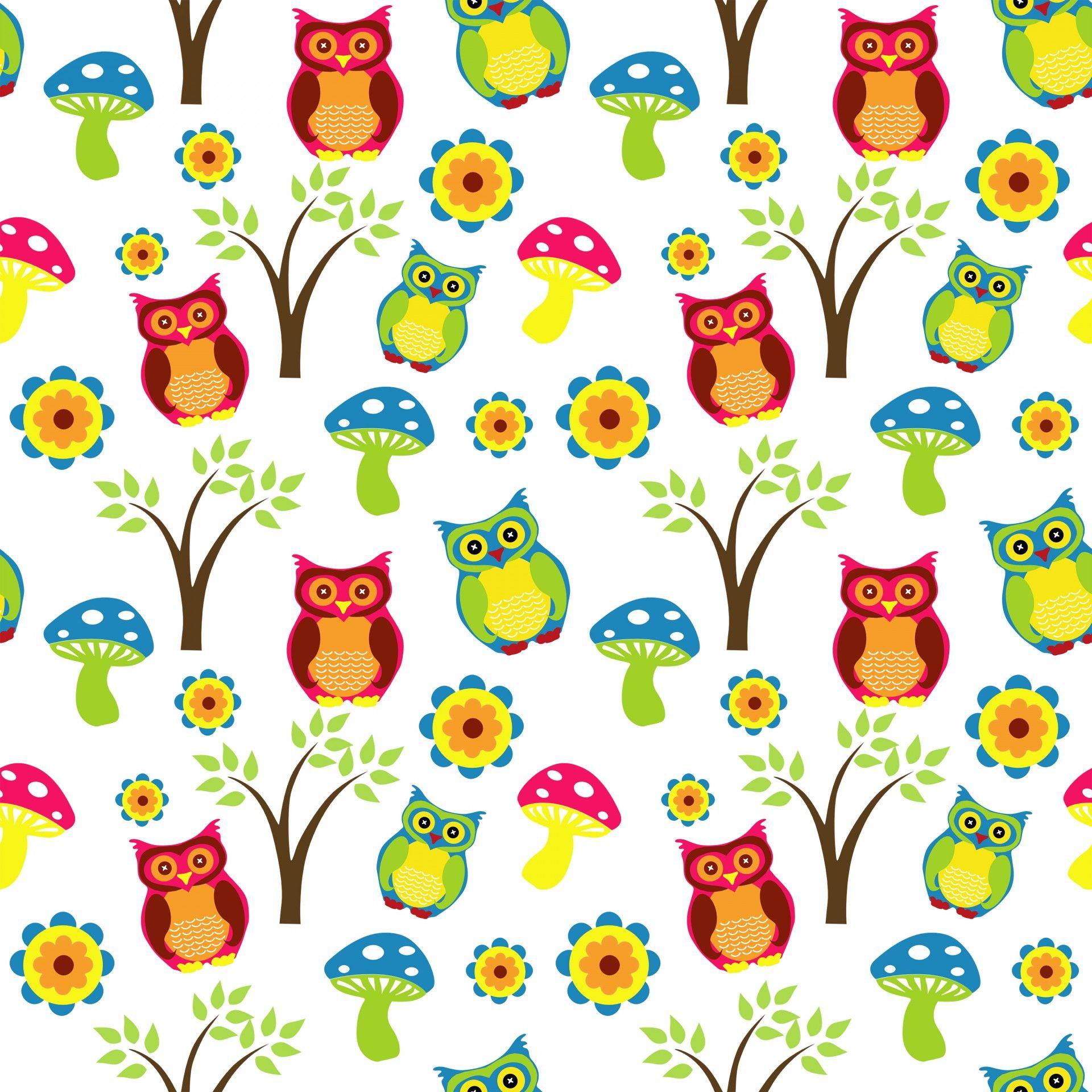 Owls clipart wallpaper.  owl pattern wallpapers