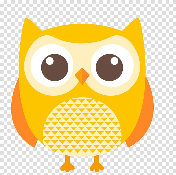 Owls clipart yellow, Owls yellow Transparent FREE for ...