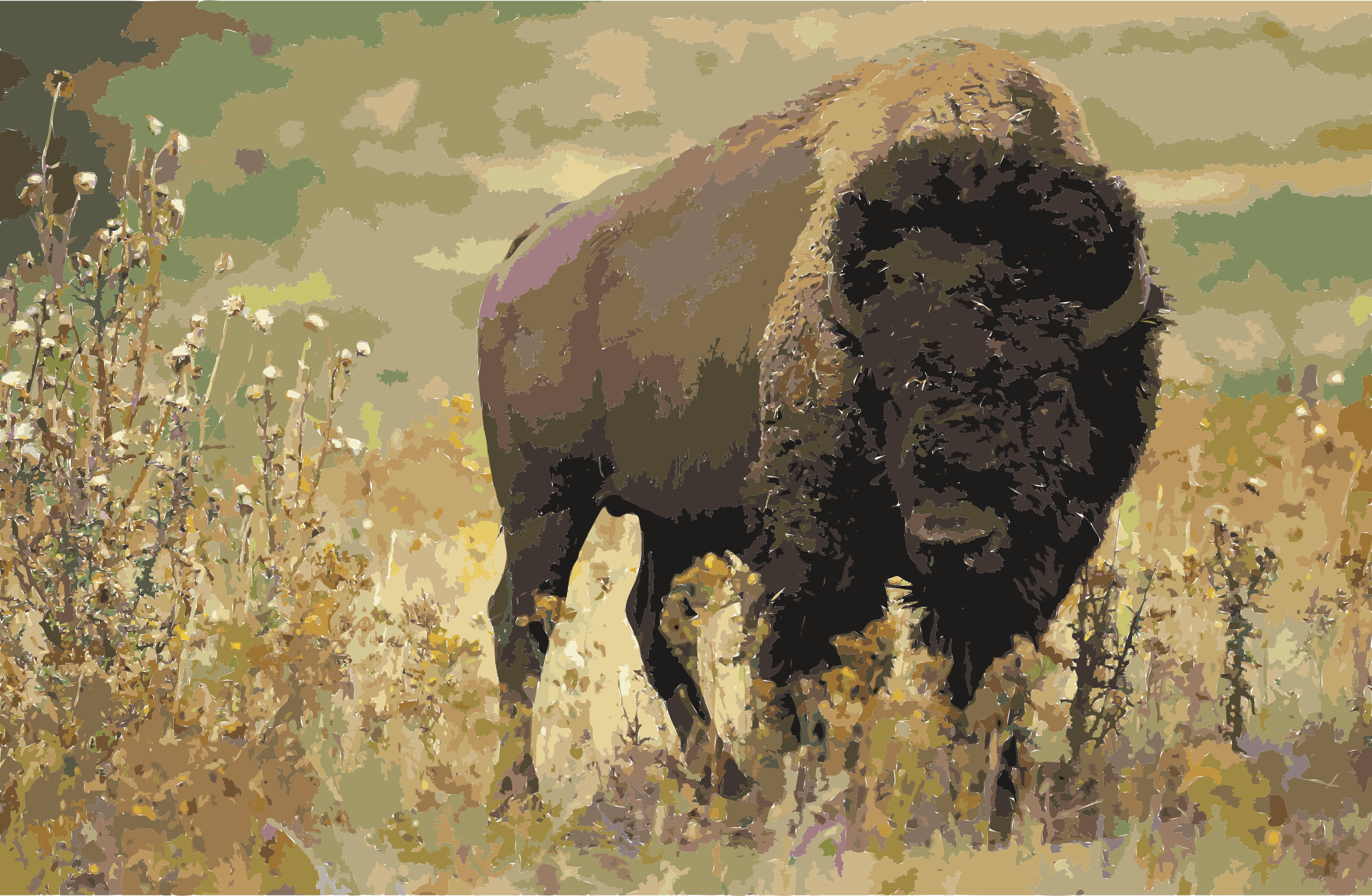 K icons png free. Ox clipart american bison