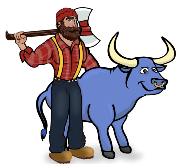 Ox clipart blue.  nd grade st