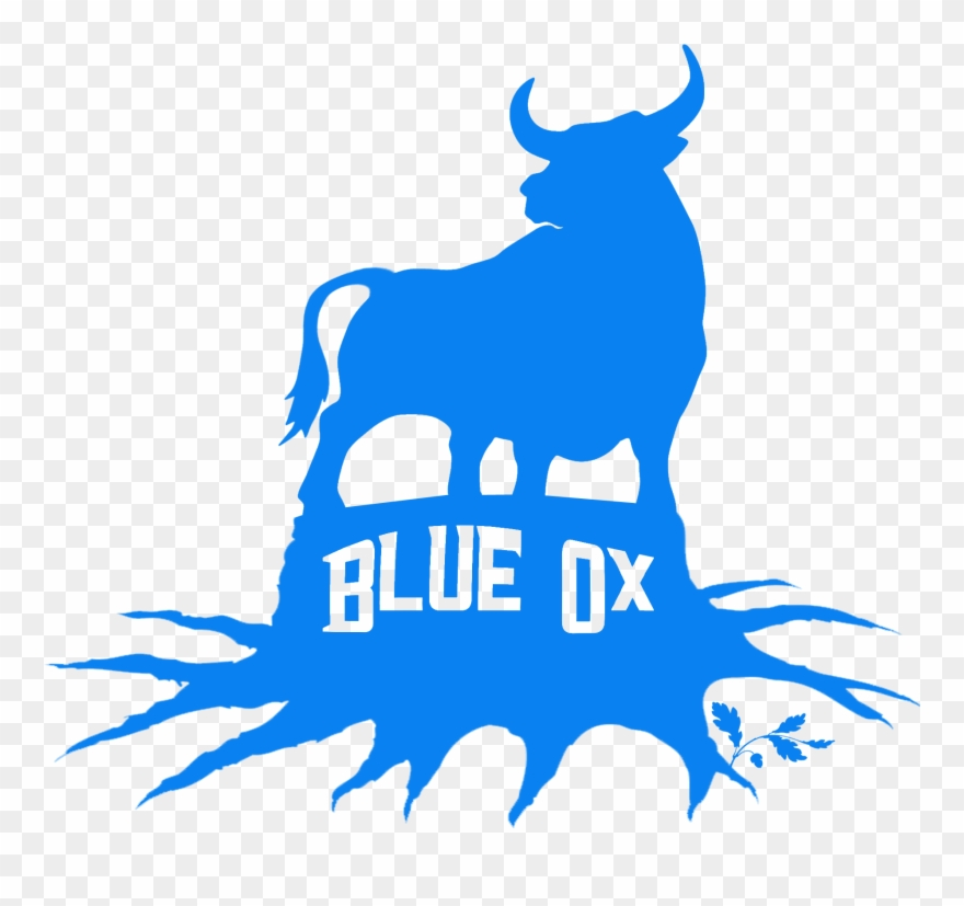 Pinclipart . Ox clipart blue