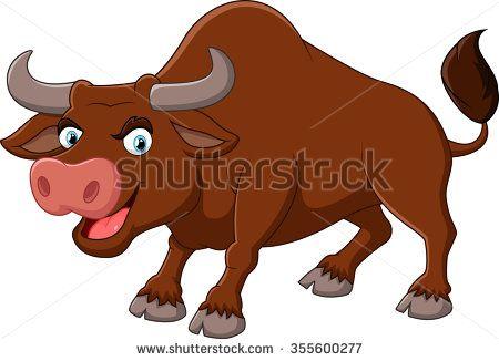Ox clipart brown bull. Cartoon stock photos images