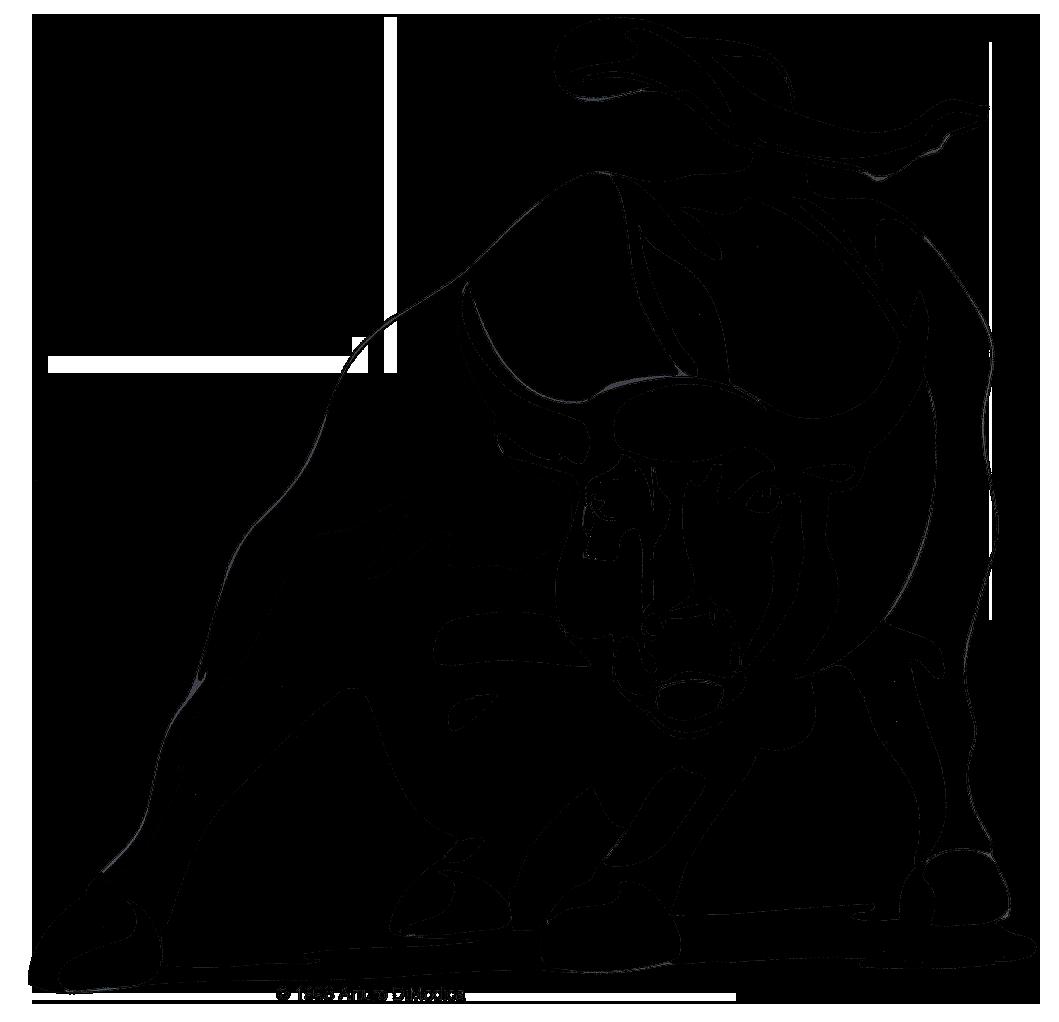 Charging bull art pinterest. Ox clipart bullfighter spanish