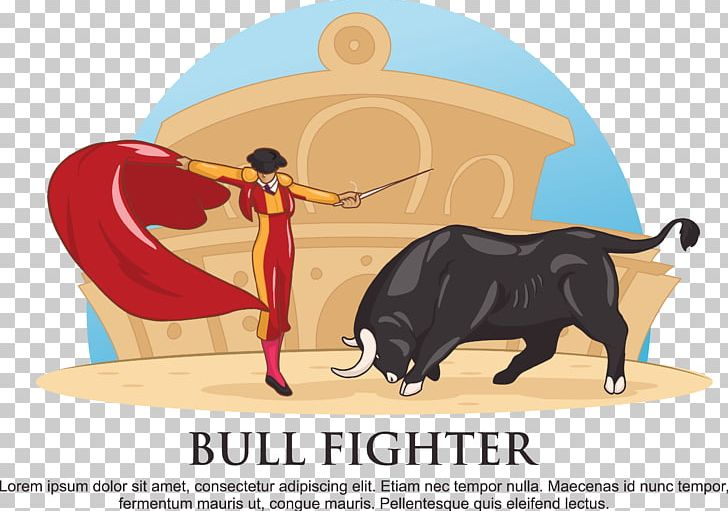 Ox clipart bullfighter spanish. Fighting bull bullfighting png