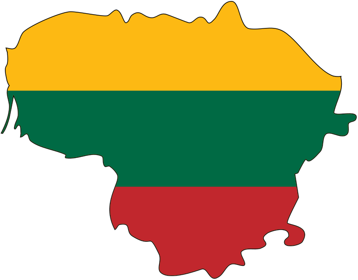 Ox clipart bullock. Lithuania flag vector clip