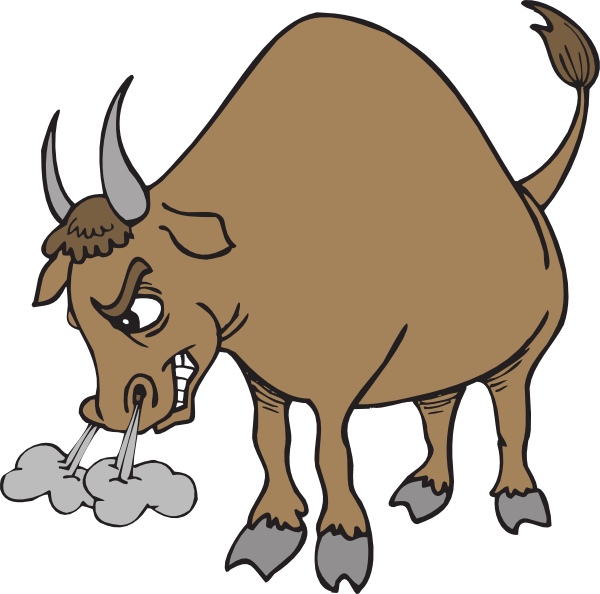 Collection of cliparts. Ox clipart bullock