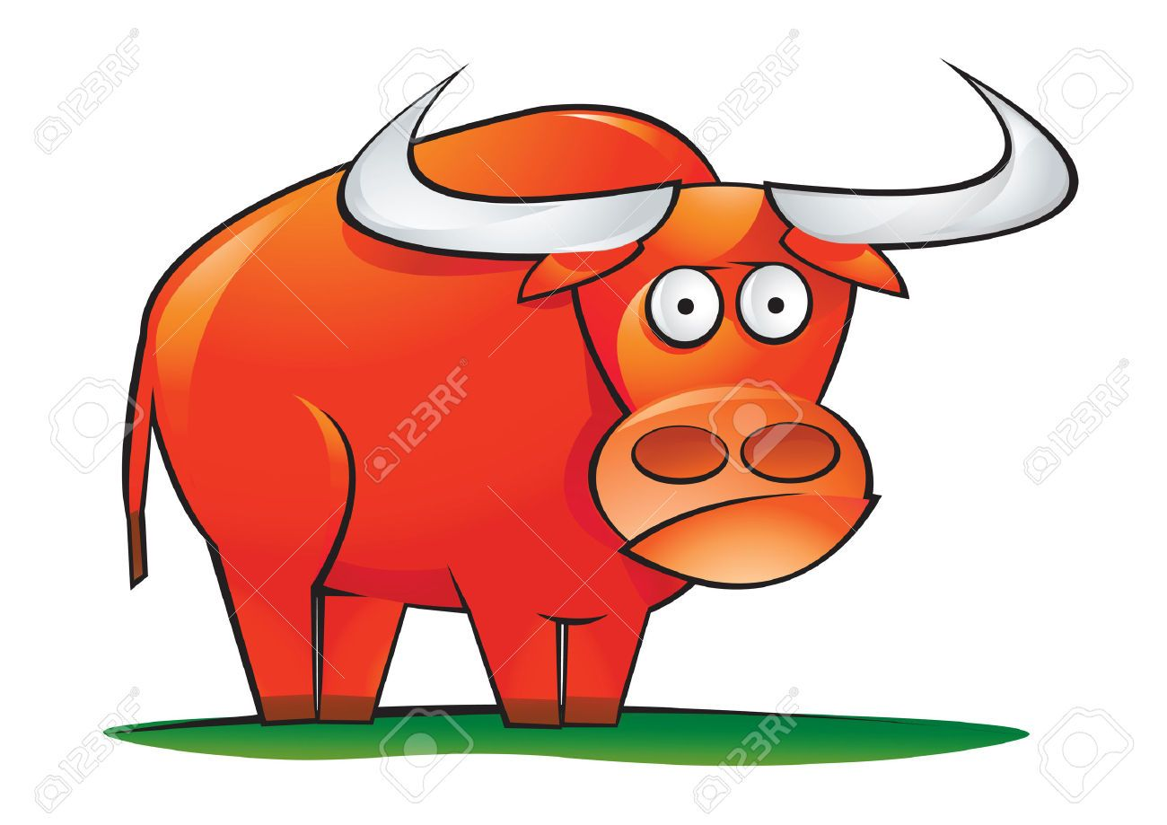 Of google search red. Ox clipart cartoon