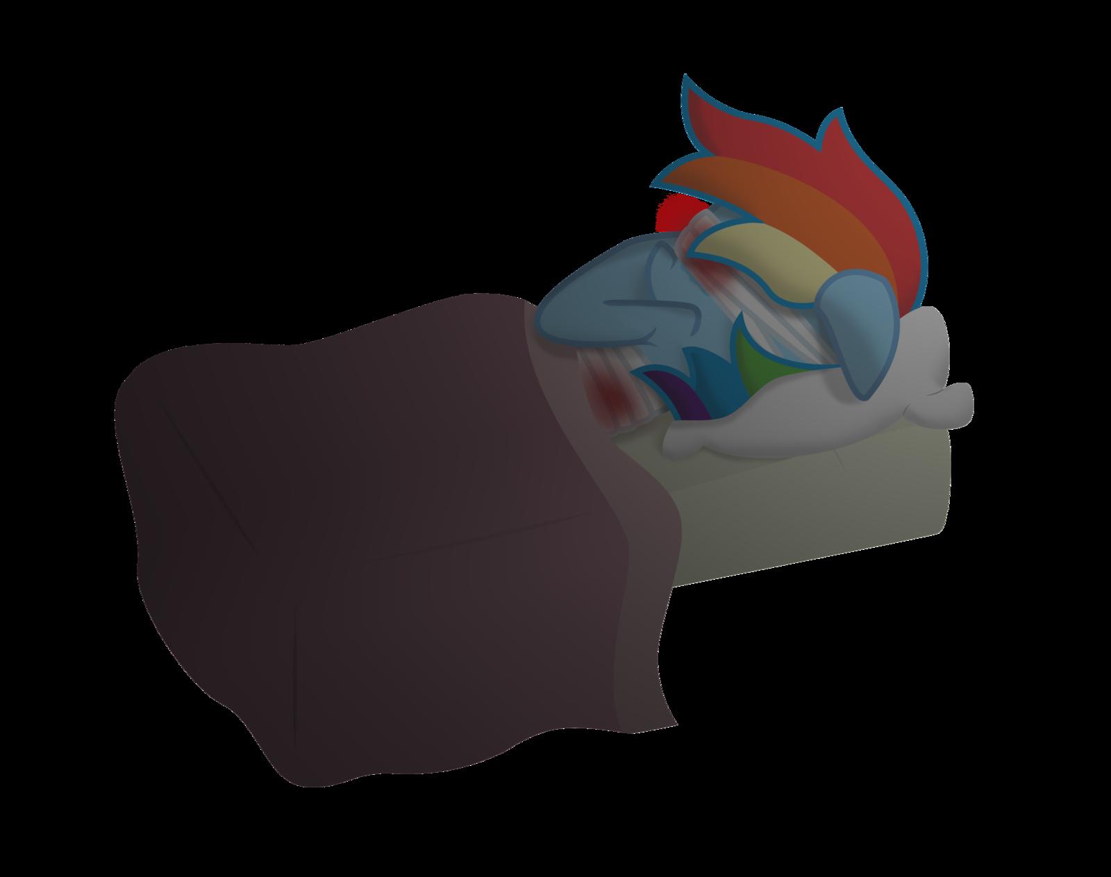 Ox clipart vector. Hurt rainbow dash by
