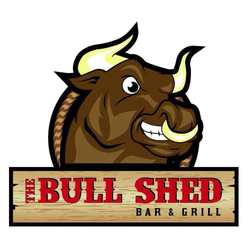 Ox clipart yolk. Bull shed bar grill