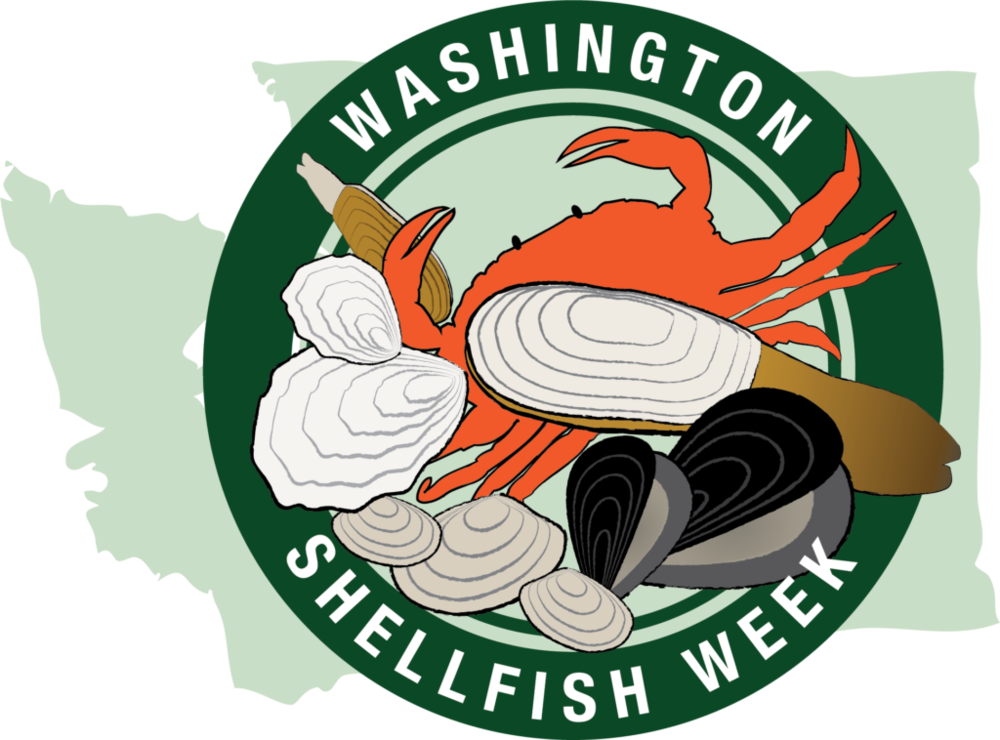 Celebrate shellfish week on. Sunny clipart noon time
