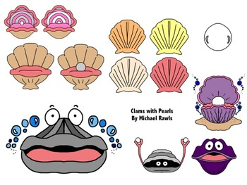Oyster clipart clam. Pearl