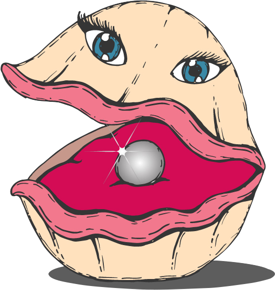 Oyster clipart pink pearls. Welcome to the s