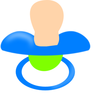Pacifier . Pacifer clipart