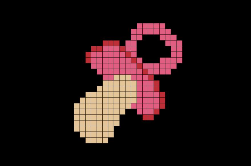 Pacifier pixel