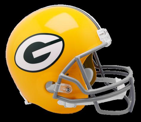 Packers helmet png. Green bay vsr replica