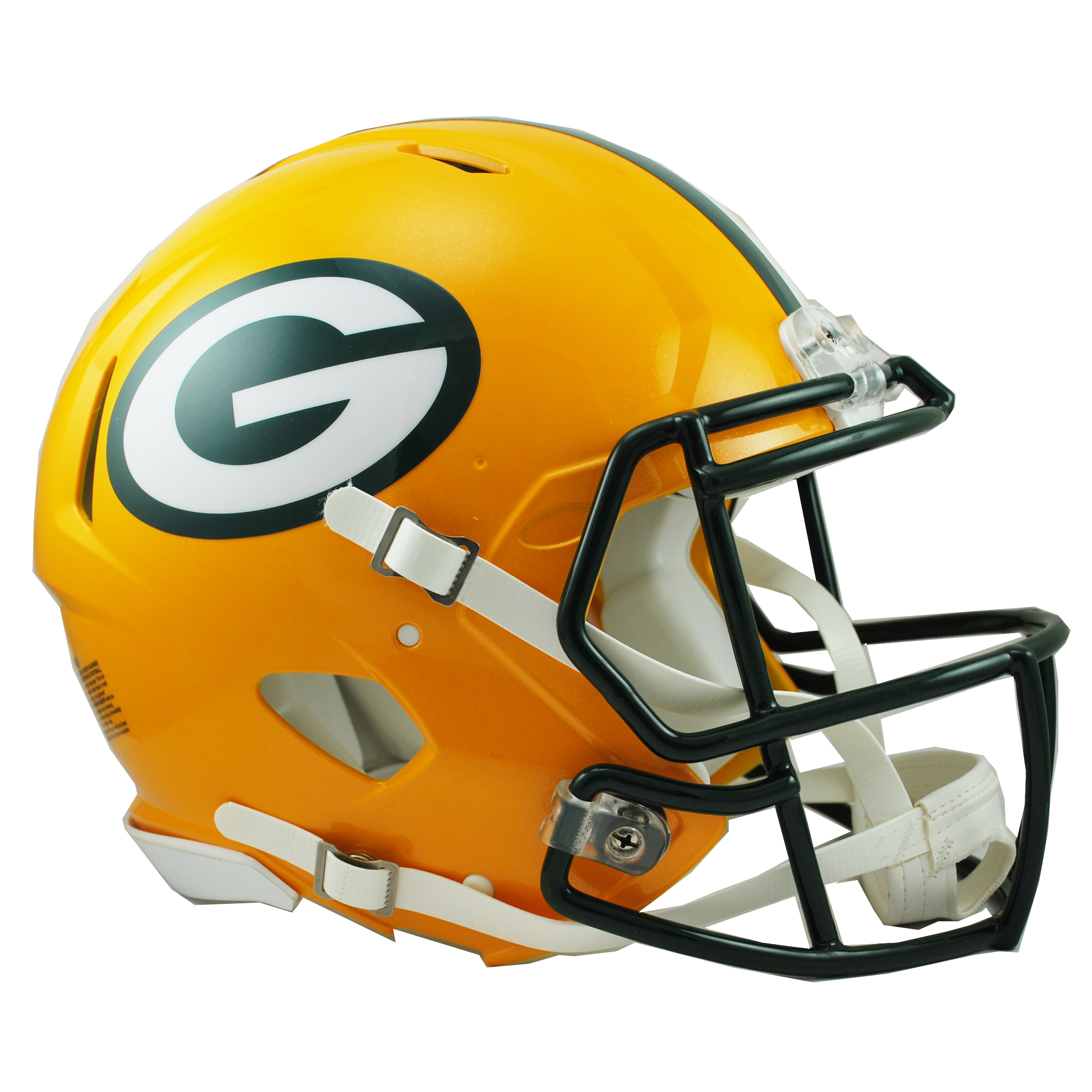 Packers helmet png. Green bay shop riddell
