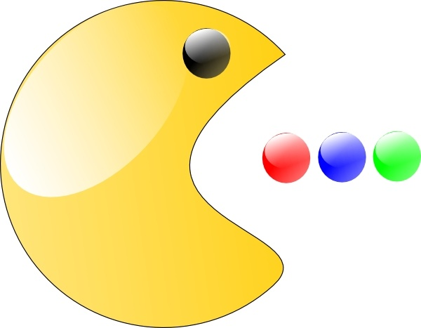 Pacman clipart. Pac man clip art