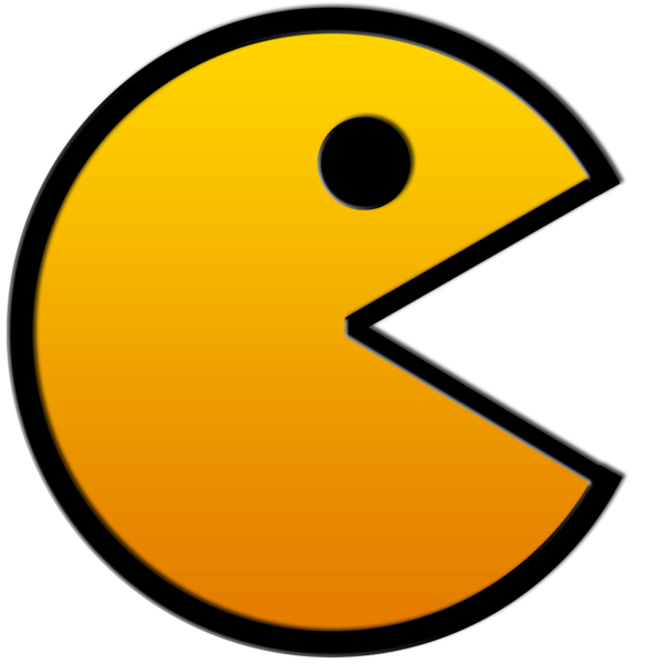 Pacman clipart arcade. Don t be a