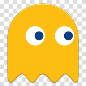Pacman clipart orange. Pac man ghost illustration
