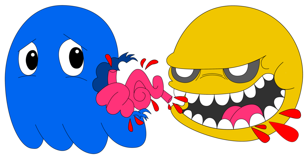 Pacman clipart vector. Pac man killer by