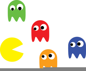 Game free images at. Pacman clipart vector