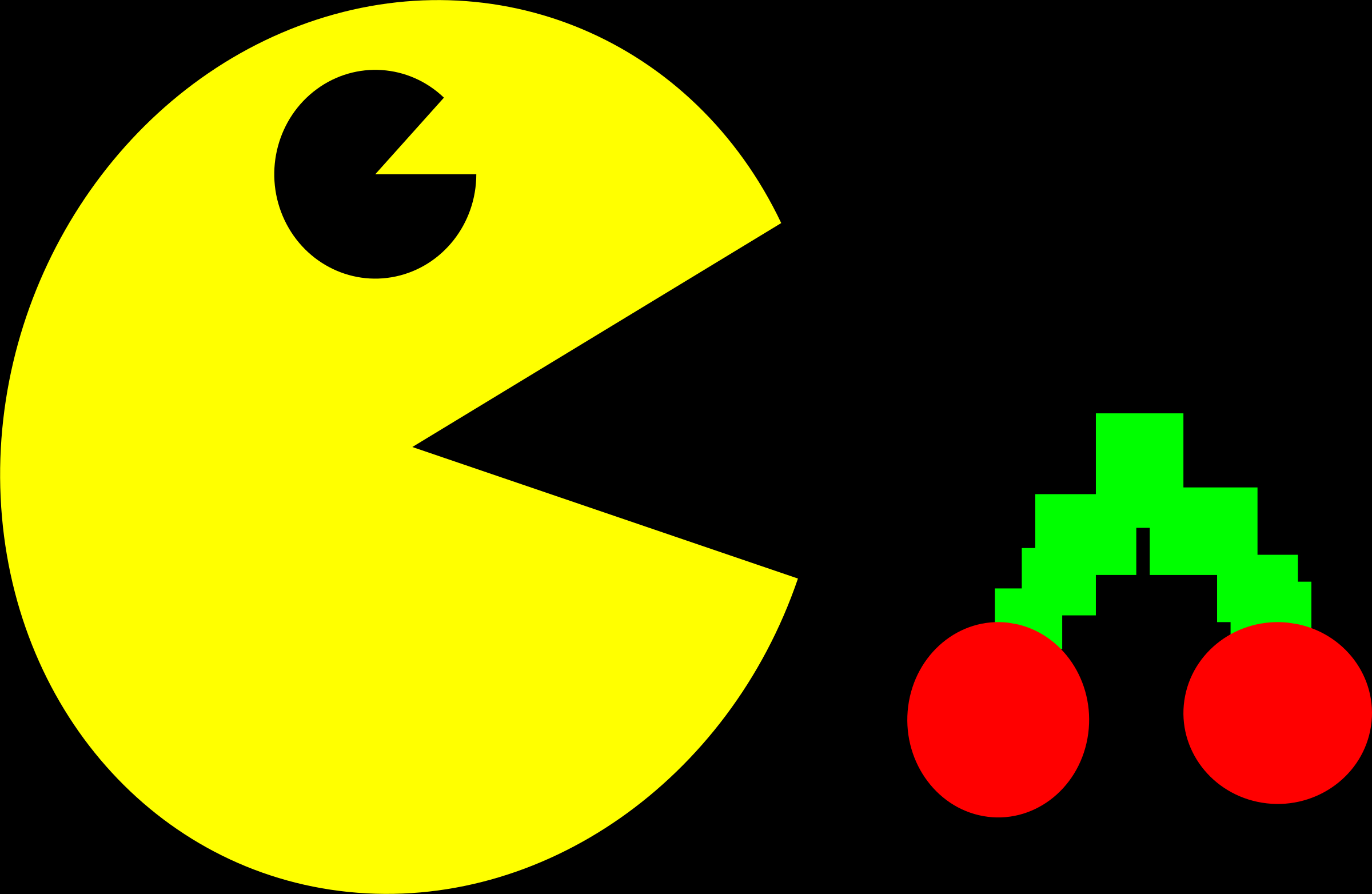 Pacman clipart vector. Pac man free download