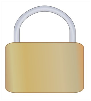 Free graphics images and. Padlock clipart