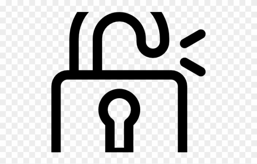 Png download . Padlock clipart unlocked padlock