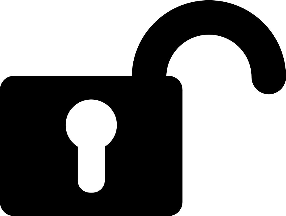 Symbol svg png icon. Padlock clipart unlocked padlock