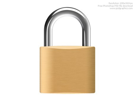 Padlock clipart. Free and vector graphics