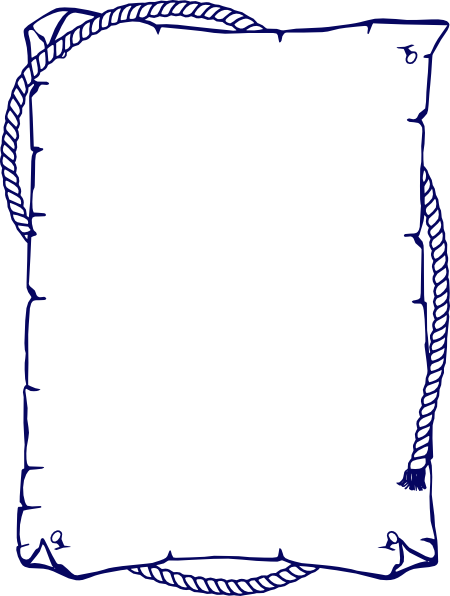 Clip art at clker. Page border png