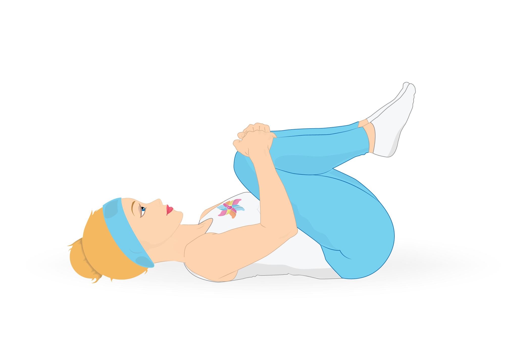 Pain clipart backache. Behappymum stretches to relieve