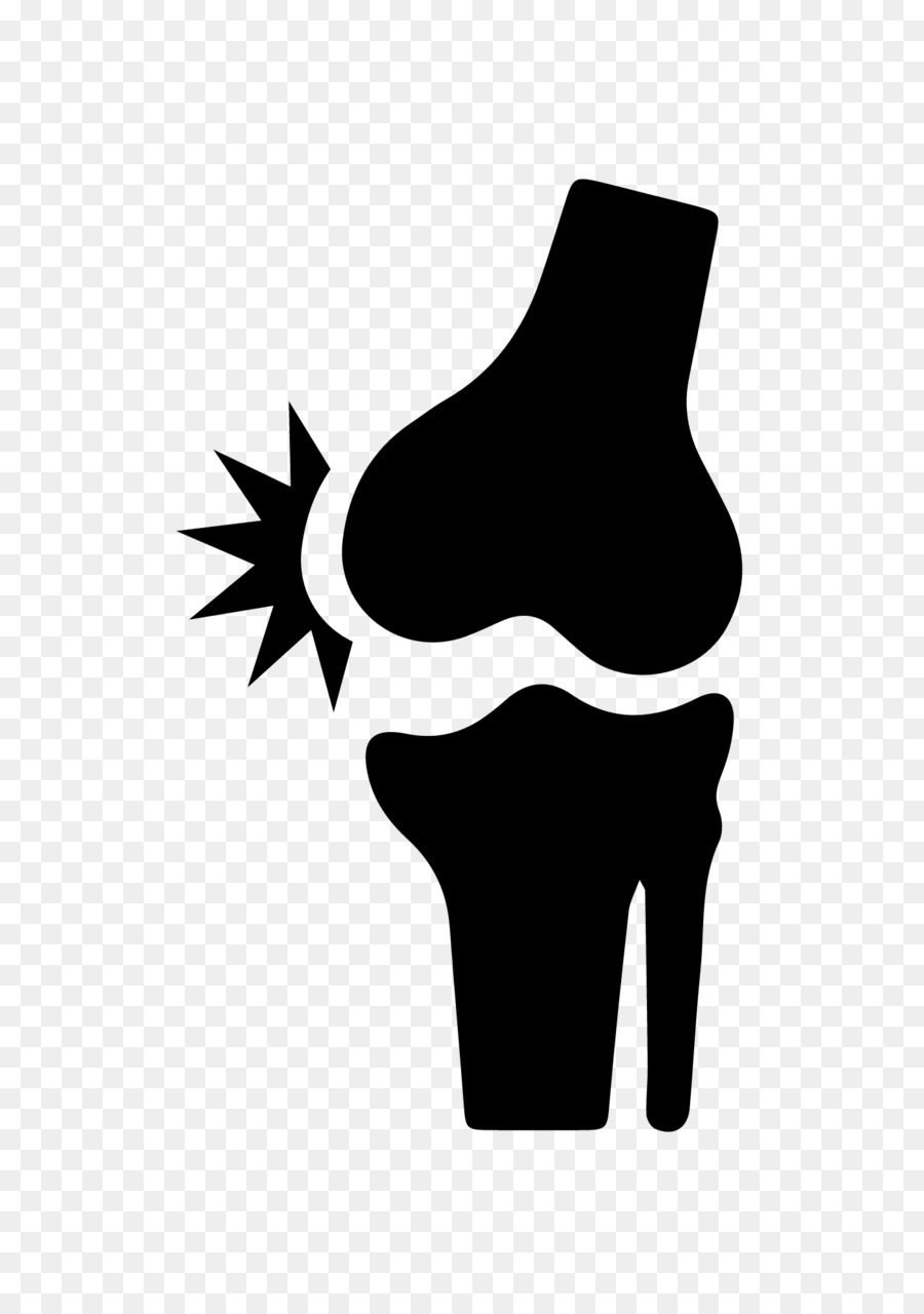 Pain clipart knee pain. Silhouette png download free
