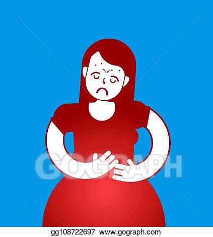 Eps illustration pms icon. Pain clipart pain suffering