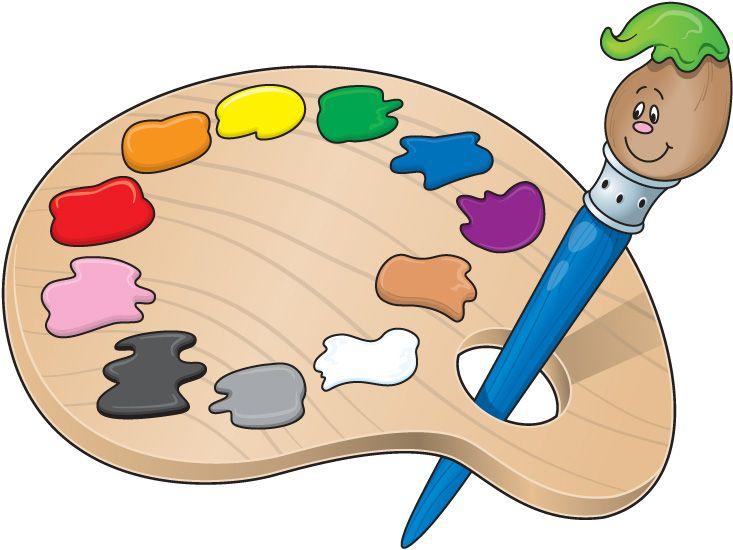 Paint clipart. Elementary school clip art